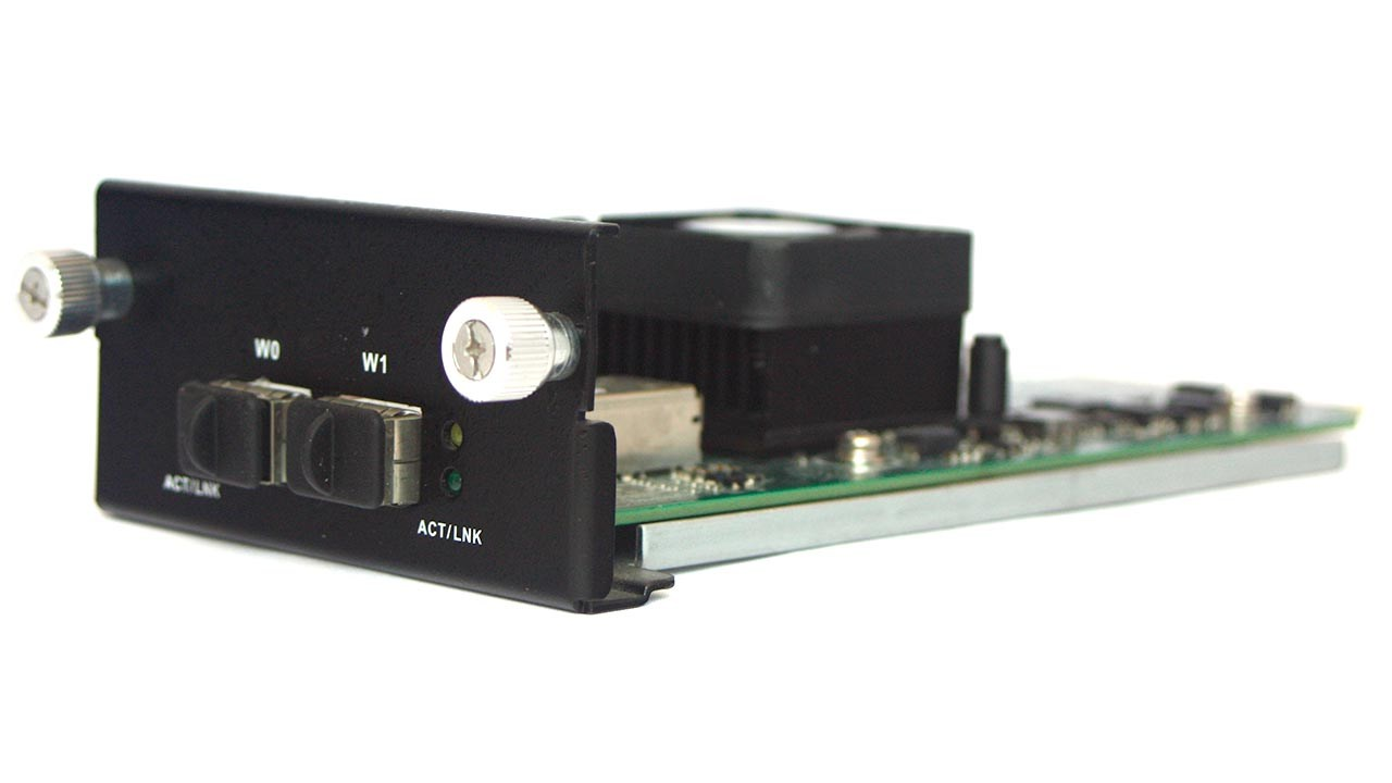 2xSFP+ 10Gigabit Ethernet LAN-card IEC-95W2