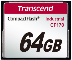 Transcend Industrial CF-card CF170 64GB