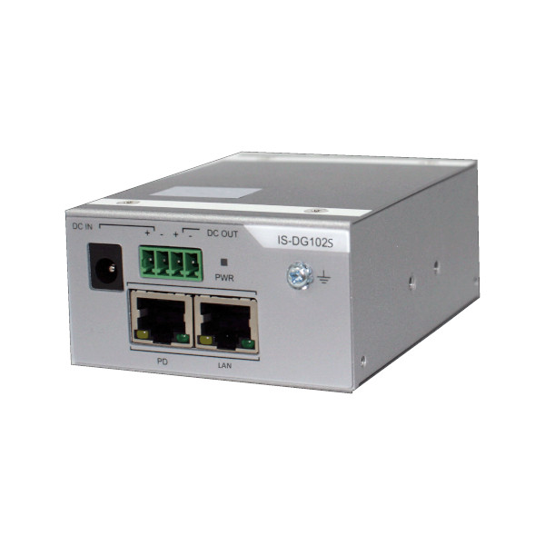 Robuster Industrie-PoE-Splitter IS-DG102S