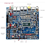 Mini-ITX Embedded Motherboard | Thin Mini-ITX Embedded Motherboard 1ST-MITX-WL10